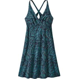 Patagonia Amber Dawn jurk Dames blauw/turquoise